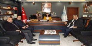 AK Parti ilçe teşkilatından Başkan Tekin'e ziyaret