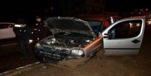 Terme'de trafik kazası: 5 yaralı