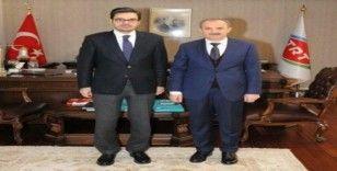 Başkan Kılınç, TRT Genel Müdürü Eren'den tanıtım desteği istedi