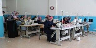 Şanlıurfa'lı kadınlar kurslarla meslek sahibi oluyorlar