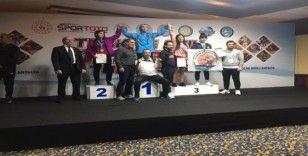 Atakum Belediyespor'dan üçlü bronz başarı