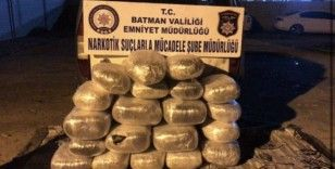 Batman'da bir yılda 2 ton uyuşturucu ele geçirildi