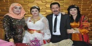 Yüksekova'da 2020 yılının ilk düğünü