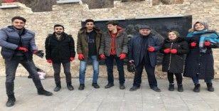Atatürk Üniversitesi öğrencilerinden 'Tarihine Sahip Çık' projesi