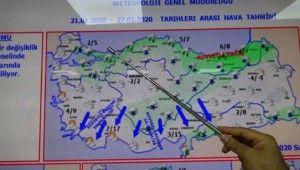 İstanbul'a kar ve buzlanma uyarısı