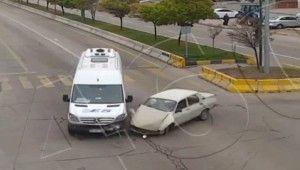 Otomobil defalarca kez takla attı