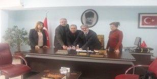 Dezavantajlılara düzenlenecek Meslek Edindirme Kursu protokolü imzalandı