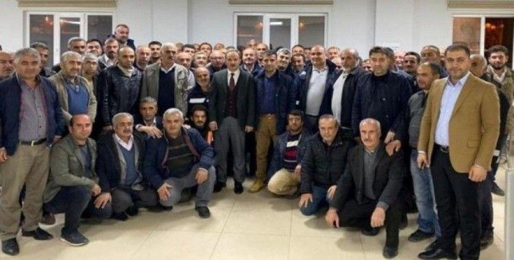 Başkan Kılınç, fen işleri müdürlüğü personeliyle bir araya geldi