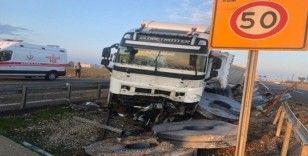 Nusaybin ipek yolunda trafik kazası: 2 yaralı