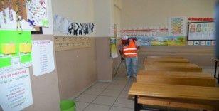 Yarıyıl tatilinde okullar ilaçlanacak