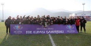 Ege Kupası'nda şampiyon Türkiye oldu