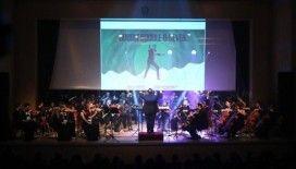 Balkan Senfoni Orkestrası bu kez Arnavutluk için sahne aldı