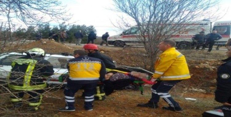 Denizli'de dün meydana gelen trafik kazasında 1 kişi hayatını kaybetti