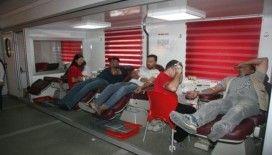 Kilis'in köylerinde kan bağış kampanyası başlatıldı