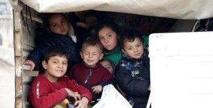 Göç etmek zorunda kalan sivil sayısı 40 bini aştı