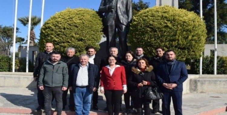 CHP Aliağa'da görev dağılımı belli oldu