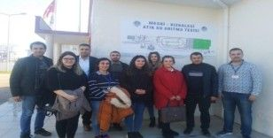 MEÜ Çevre Mühendisliği öğrencileri Kızkalesi Atıksu Arıtma Tesisini gezdi