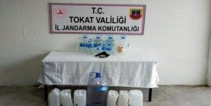 Tokat'ta üretilen sahte içki piyasaya sürülemeden yakalandı