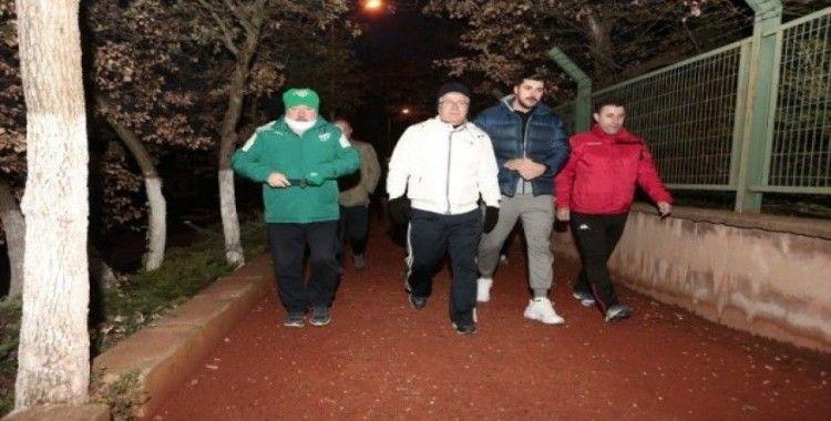 Nilüfer'de adımlar sağlık için atıldı