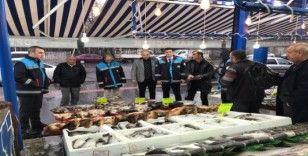 Balık satışı yapılan yerlere sıkı denetim