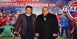 Başkan Zorluoğlu'ndan Hekimoğlu Trabzon FK Kulüp Başkanı Celil Hekimoğlu'na ziyaret