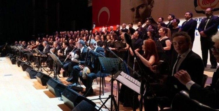 Büyükşehir'in Türk Sanat Müziği Konseri büyük beğeni topladı