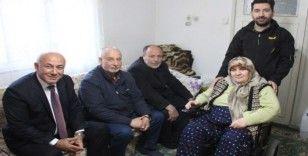 Başkan Tuncel, Hamide Teyze'yi mutlu etti