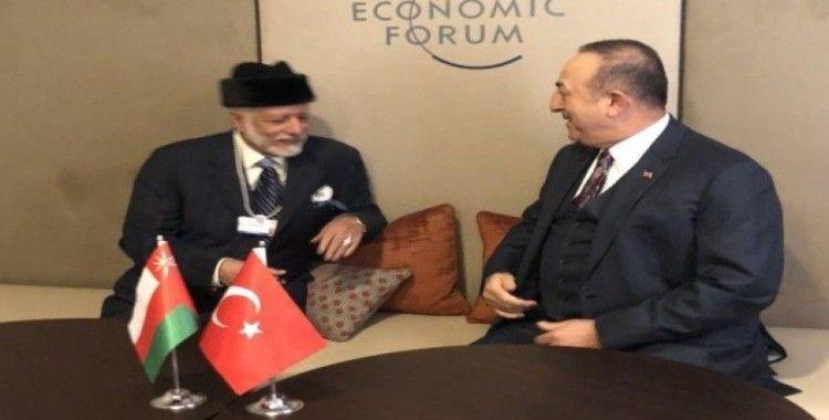 Dışişleri Bakanı Çavuşoğlu, Ummanlı mevkidaşıyla görüştü