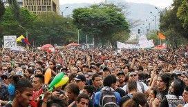 Kolombiya'da hükümet karşıtı protestolar yeniden başladı