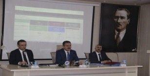Hakkari'de 'İl Koordinasyon Kurulu' toplantısı