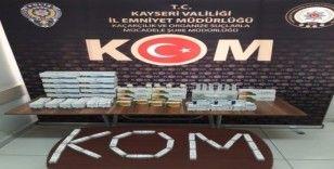 Kayseri'de yurt dışından getirdiği cinsel içerikli ilaçları satan 1 kişi gözaltına alındı