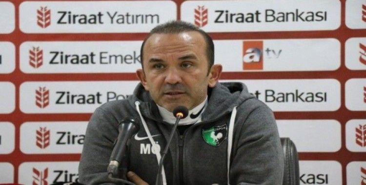 """Mehmet Özdilek: """"Biz kupada eleneceksek böyle elenmeliydik"""""""