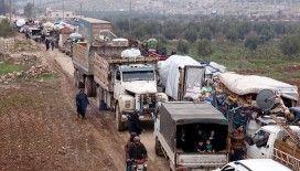 Son 48 saatte 36 bin sivil daha Türkiye sınırı yakınlarına göç etti