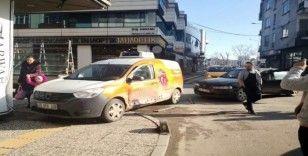 Sakarya'da aynı sokak üzerinde 1 haftada 3 kaza meydana geldi