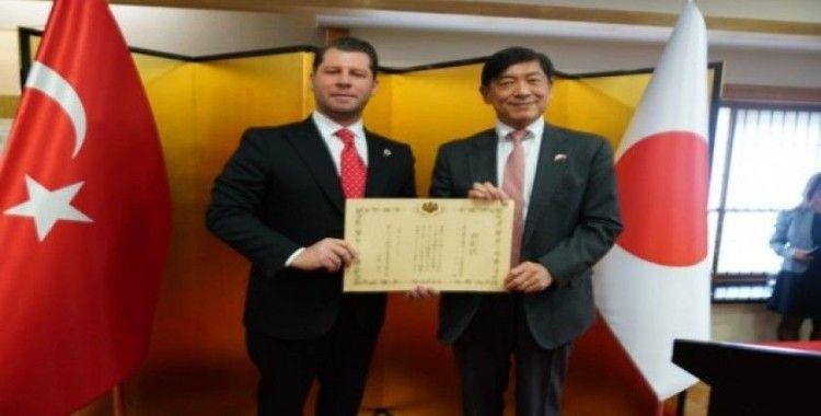 Şerif Tosyalı'ya Japonya'dan büyükelçilik özel ödülü