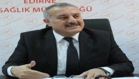 """Edirne İl Sağlık Müdürü Kalkan: """"Korkulacak bir durum yok, önlemler alındı"""""""