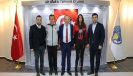 Turgutlu Belediyespor kadın basketbol takımına milli gurur