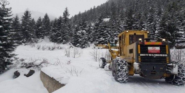 Doğu Karadeniz'de 711 köy ve mahalle yolu ulaşıma kapandı