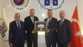 Kardeş borsalar İstanbul ve Alaşehir Ticaret Borsası'ndan Aydın Ticaret Borsası'na ziyaret