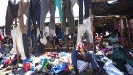 Zimbabveli seyyar satıcılar, ikinci el kıyafetlerden her gün yüzlerce dolar kazanıyor