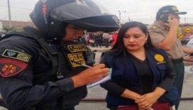 Peru'da gaz yüklü tanker patladı: 2 ölü, 50 yaralı