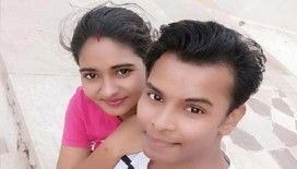 Hindistan'da bir zanlı, karısını fenomen olduğu için vahşice öldürdü