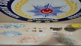 Şanlıurfa'da uyuşturucu operasyonu 9 tutuklama