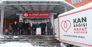 Gümrük personelinden kan bağışı