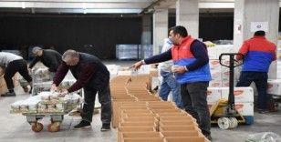 Konyaaltı Belediyesi'nden Elazığ'a yardım eli