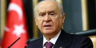 MHP lideri Bahçeli: 'Çalışmalara destek vermek maksadıyla deprem bölgesine bir heyet görevlendirmiş bulunuyoruz'