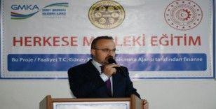 Bülent Turan, Makine Teknoloji Atölyesi açılışını yaptı