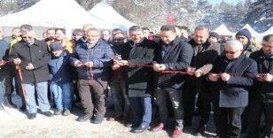 Bolu'da Kar Festivali yoğun ilgi gördü