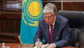 Kardeş Kazakistan ve destek taziye mektupları