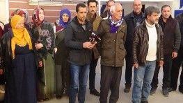 HDP önündeki ailelerden Elazığ'a yardım çağrısı